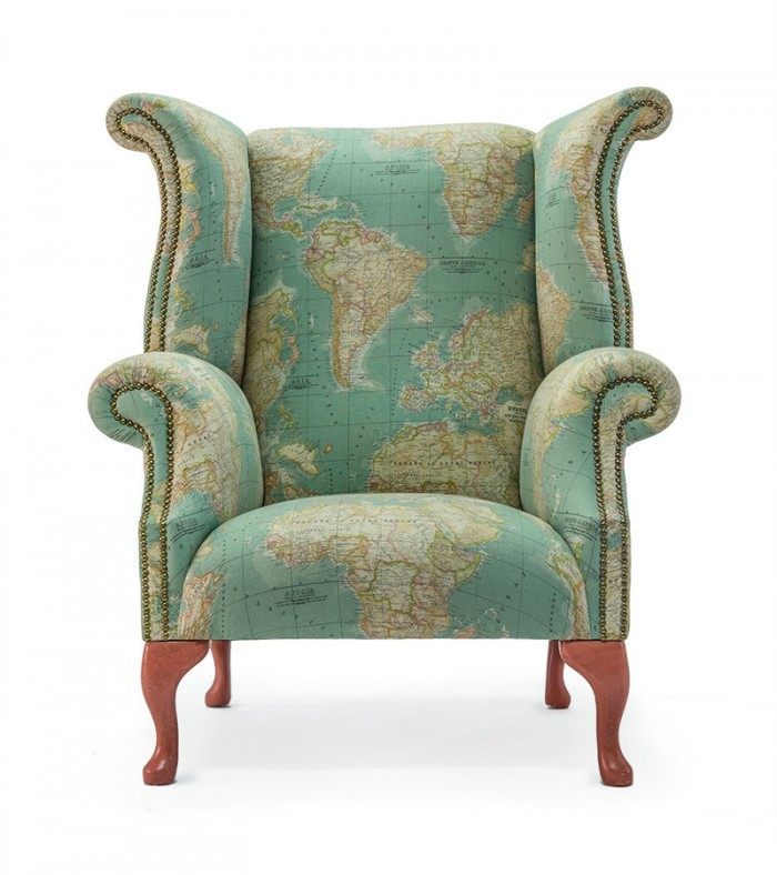 Queen Anne Wingback Chair. Wingback Chair Course